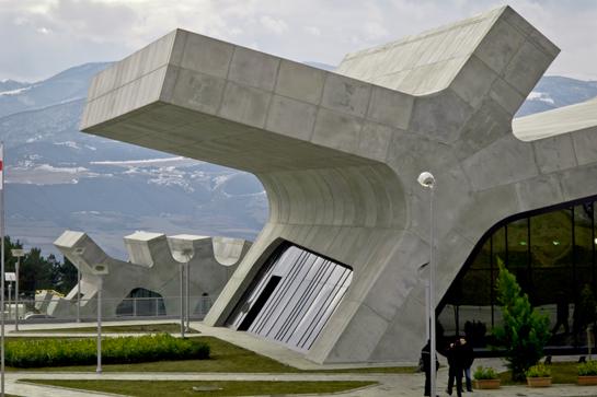 Raststätte in Georgien von J. Mayer H. Architects